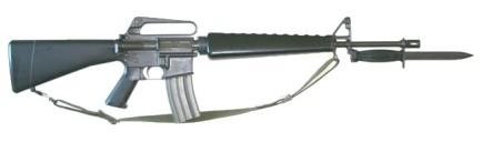 M16W:M7Bayonet